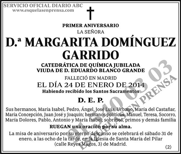 Margarita Domínguez Garrido